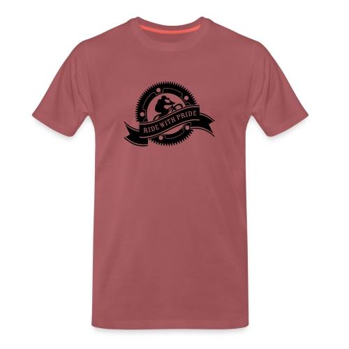 Ride with Pride - Herre premium T-shirt