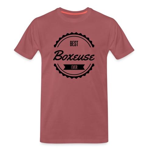 best boxeuse boxe - T-shirt Premium Homme