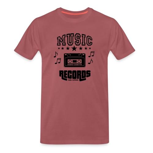 TKHKI MUSIC RECORDS - Miesten premium t-paita