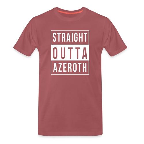 Straight Outta Azeroth - Männer Premium T-Shirt