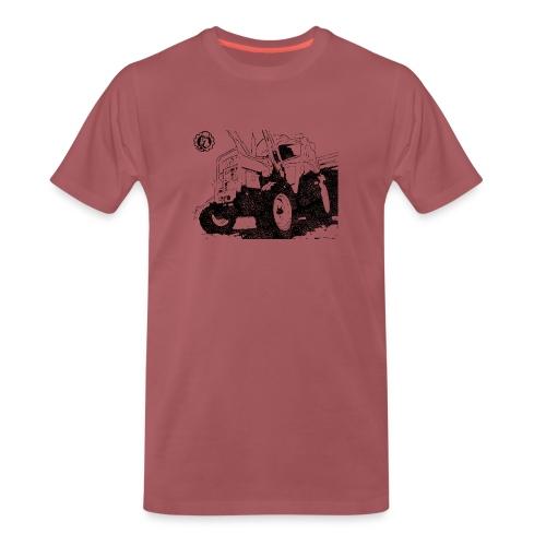 Mr. Moto IHC 633 Schwarz - Männer Premium T-Shirt