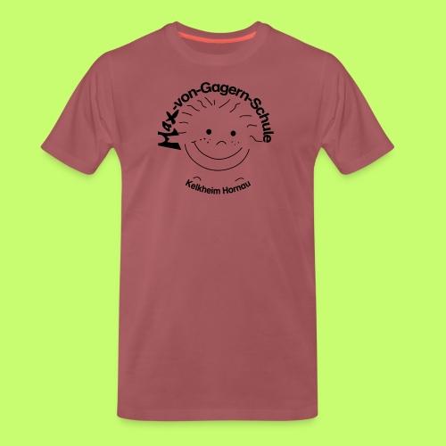 Mäxchen Logo schwarz - Männer Premium T-Shirt