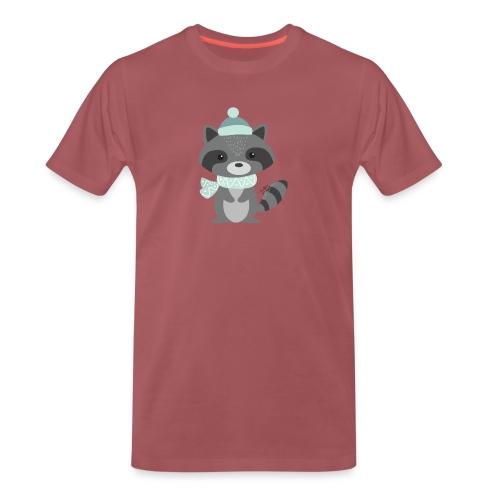 The Raccoon - Maglietta Premium da uomo