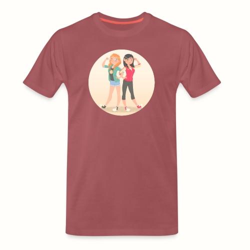 Anna e Mulan - Maglietta Premium da uomo