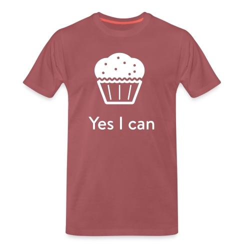 Monster-Cupcake T-Shirt by mySugr - Men's Premium T-Shirt