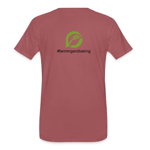farmingandbaking_logogruen - Männer Premium T-Shirt