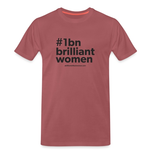 #1bnbrilliantwomen - Men's Premium T-Shirt