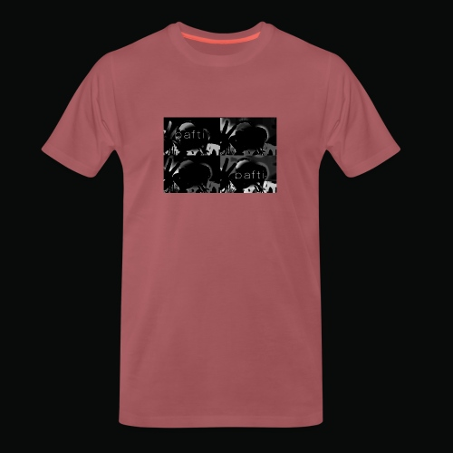 black bafti crew - Herre premium T-shirt