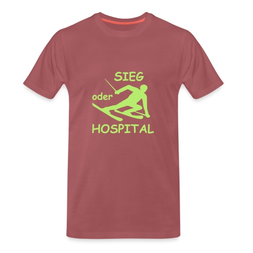 Sieg oder Hospital - Männer Premium T-Shirt