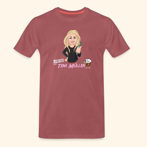 Tina Müller - Herre premium T-shirt
