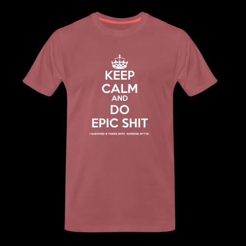 NORDISK NYTTA - Premium-T-shirt herr