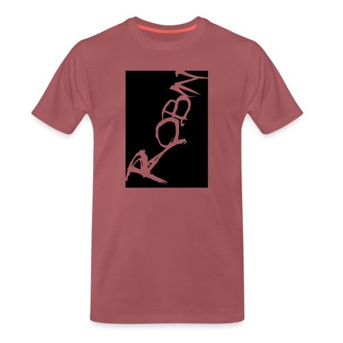 Männer-T-Shirt Robin scripted, schwarz - Männer Premium T-Shirt