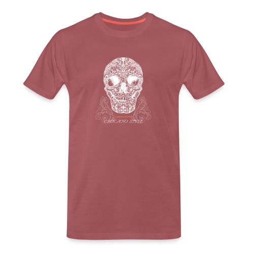 Chicano Style , Skull Mexiko Totenkopf Bobber - Männer Premium T-Shirt