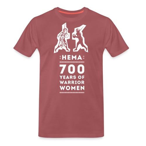 HEMA - 700 Years of Warrior Women - Camiseta premium hombre