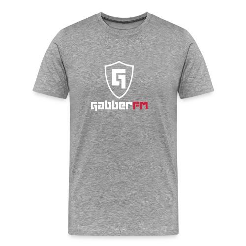 Gabber FM Logo Letters - Men's Premium T-Shirt