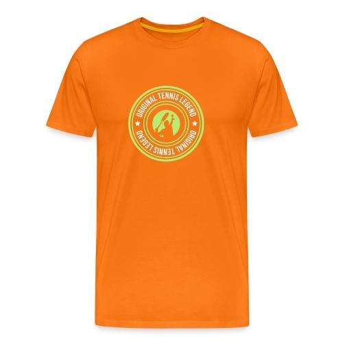 stamp original tennis legend man - T-shirt Premium Homme