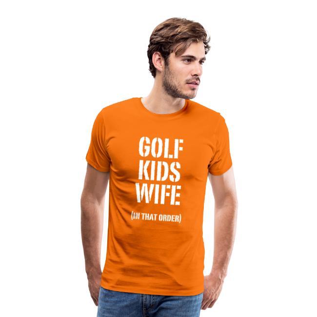 GOLF, KIDS, WIFE