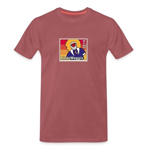 LittleWaggis - Briefmarke - Männer Premium T-Shirt