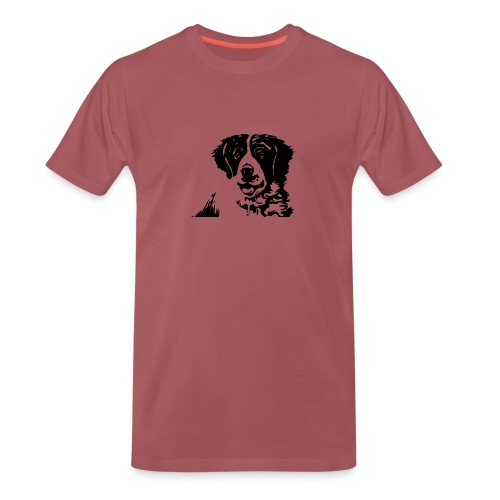 Barry - St-Bernard dog - Männer Premium T-Shirt