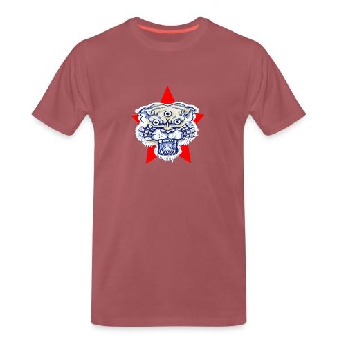 3 Tiger Star - Maglietta Premium da uomo