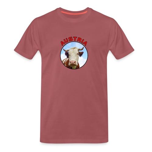 AustriaKuh png - Männer Premium T-Shirt