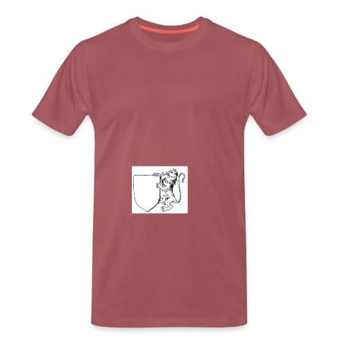 leeres Wappen mit Loewe 1 gif - Männer Premium T-Shirt