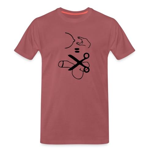 Antigrabsch - Männer Premium T-Shirt