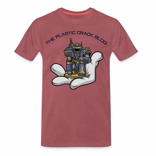 Plastic Crack Blog - Men's Premium T-Shirt