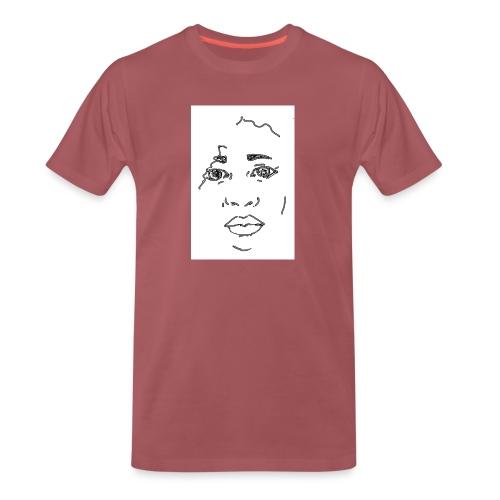 visage - T-shirt Premium Homme