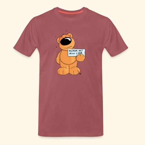 chris bears Keiner hat mich lieb - Männer Premium T-Shirt