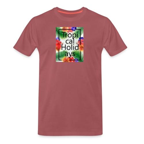 Tropical Holidays - Koszulka męska Premium