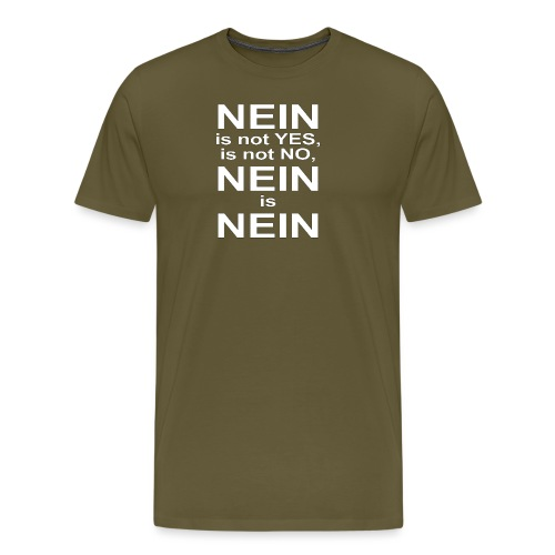 NEIN! - Men's Premium T-Shirt