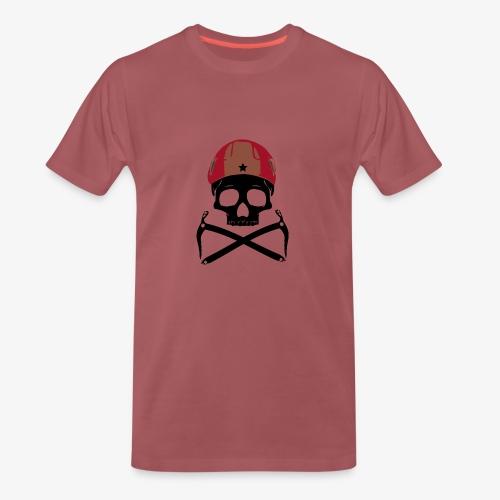 Climber Pirats skull black - Climbing Pirates - Men's Premium T-Shirt