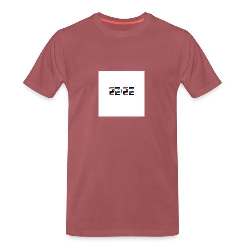 22:22 buttons - Mannen Premium T-shirt