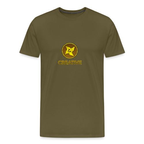 Creative logo shirt - Herre premium T-shirt