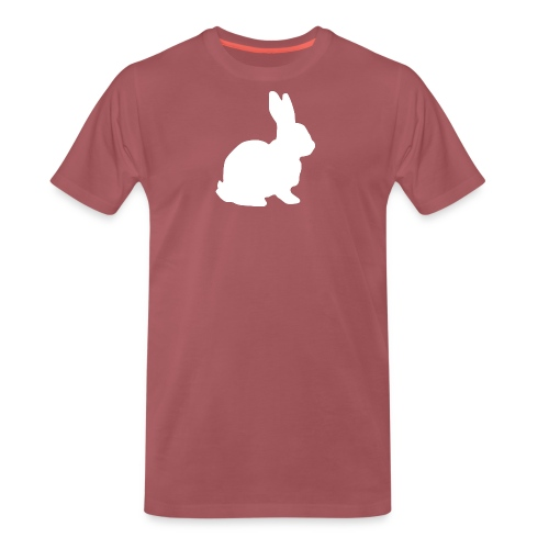 Follow the white rabbit. - Männer Premium T-Shirt
