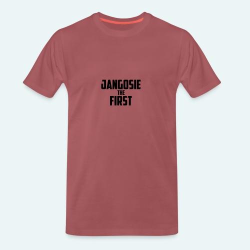 jangosiethefirst pet - Mannen Premium T-shirt