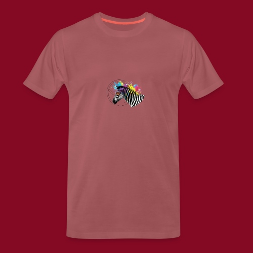 Watercolour-Z - Maglietta Premium da uomo