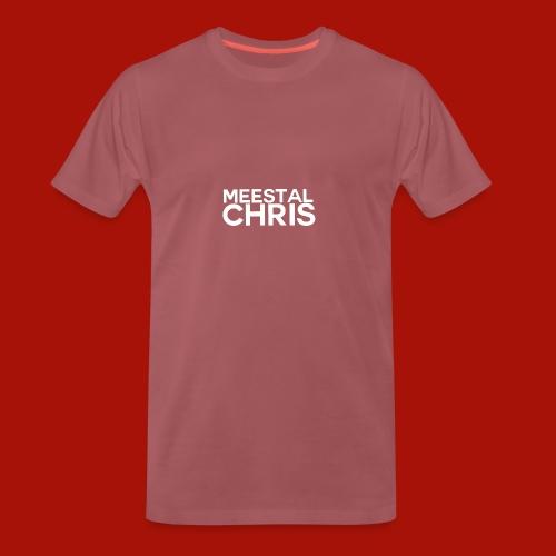 MeestalChris Logo shirt - Mannen Premium T-shirt