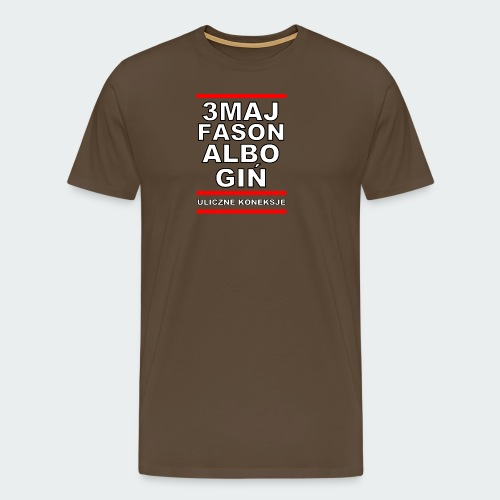 Koszulka Damska Premium 3MajFason - Koszulka męska Premium