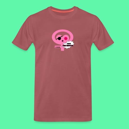 Free the nipples - Herre premium T-shirt