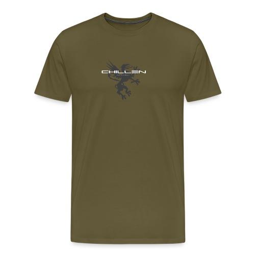 Chillen-1-dark - Men's Premium T-Shirt