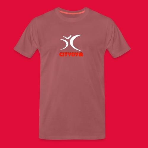 CityGym Guys Pullover - Black - Men's Premium T-Shirt