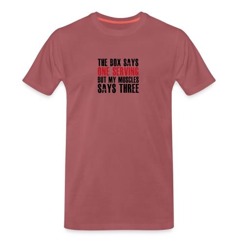 Fitness Talk - Herre premium T-shirt