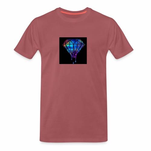 The paint spilt - Men's Premium T-Shirt