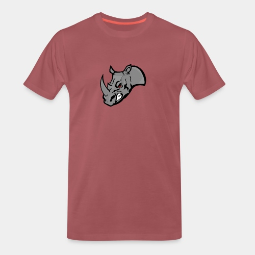 Rhino Mascot design - Men's Premium T-Shirt