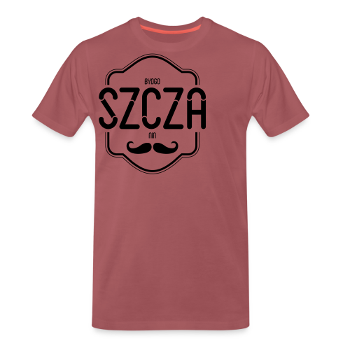 Bydgoszczanin z wąsem - Koszulka męska Premium
