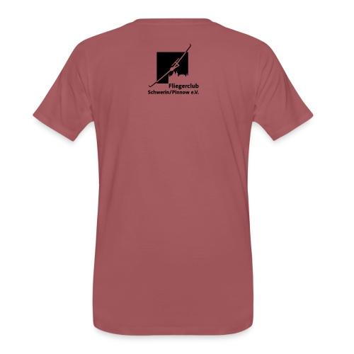 Logo Fliegerclub Schwerin Pinnow - Männer Premium T-Shirt