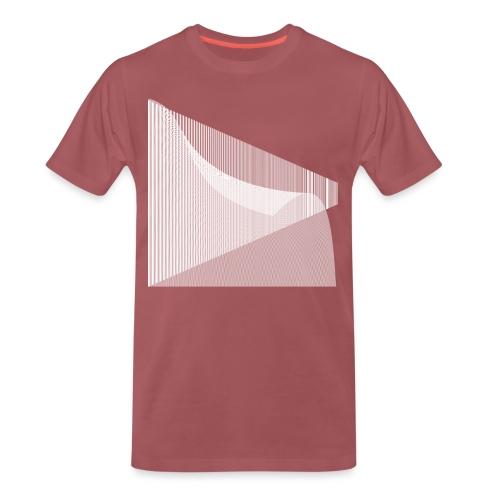 SF Linien V2 - Männer Premium T-Shirt