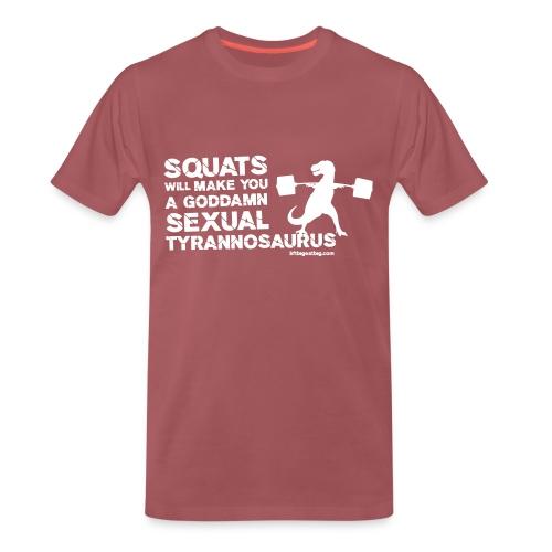 lbeg trex front - Men's Premium T-Shirt